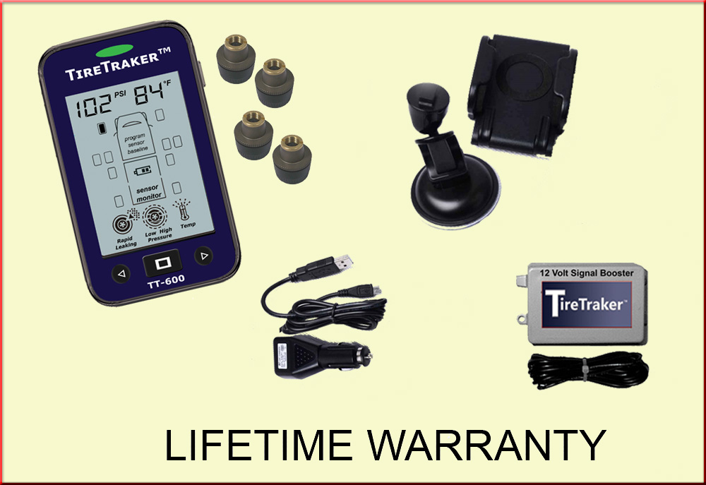 TT-600 / 4-WHEEL TIRE MONITORING SYSTEM
